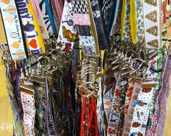 Key Fob, Wristlet, Key Chain, Backpack Tag, Zipper Pull, Luggage ID, Mixed Lot. Bulk Quantity, Wholesale