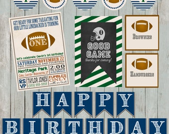 Football Birthday Party Package