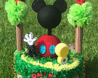 Custom Piñata for Mickey's Clubhouse Party