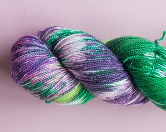 The Craic, Hand dyed Sock Yarn with Stellina