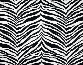 Tunisia Black White Premier Prints Fabric - One Yard -  Black and White Home Decor Fabric