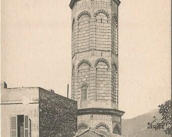 Oran Minaret de la Mosquee du Pachu Pasha Paris France French Mosque Vintage Postcard