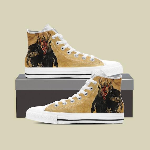 d6784edef5e ... Wars Star Maul Darth Shoes Death Converse Star Darth Last vader Side  Star Sneaker Jedi Wars
