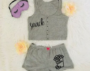 Im a Snack Pajama Set