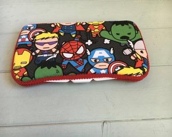 Superheroes, Wipe Case, Wipes Case, Baby Wipes Case, Travel Wipe Case, Baby Wipe Case, Wipes Holder, Diaper Bag, Baby Gift, Babyshower
