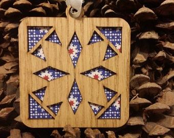 Quilt Block Ornament