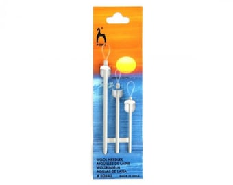 Wool needles, Pony sewing needles for knitted items, knitting accessories.