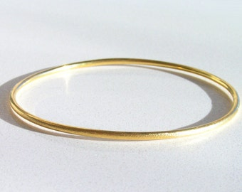 Solid Gold Bangle, 14k Gold Bangle, Gold Bracelet, Bangle Bracelet, Solid Gold Bracelet, 14k Gold Bracelet, Stacking Bangle