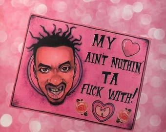 Wu Tang ODB Valentine's Day Card