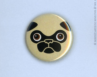 "Tricky Face 1"" Pin-Back Button"