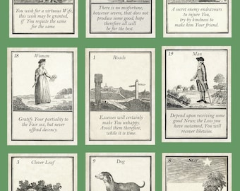 Coffee Cards 1796 - Fortune Telling Oracle. Brand New. Self Published.