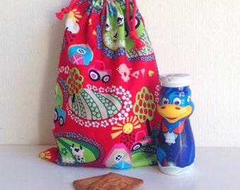 Snack bag.Farm animals. Bag lunch. Garment bag. Diaper bag. Toddler backpack.