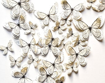 3d paper butterflies, butterfly nursery wall decal, butterfly party decorations, princess room decor, 3d butterfly wall decor, butterfly art
