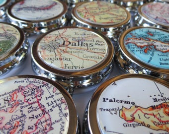 Pill case, decorative pill box, sister in law gift, pill box for purse, custom nurse gift, personalized pill box, mother in law gift