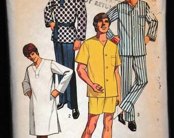 Simplicity 9433 Men's Set of Pajamas