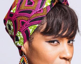 African Print headwrap | Ankara Head Scarf | Turban Wax | African Scarves | African wax print Head Wrap | Head covering | Ladies Scarves