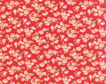 Little Ruby - 10 fabrics in listing - Bonnie & Camille for Moda Fabrics - Calico, Quilting