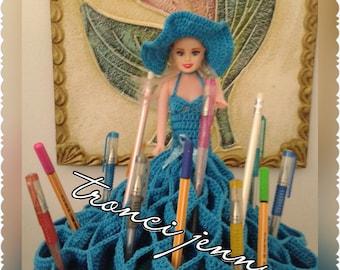 Barbie Doll brings items