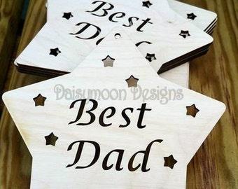 BEST DAD STAR