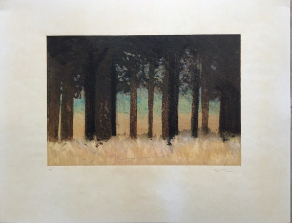Peter Thomas limited edition 4/5 hand signed screenprint by the artist