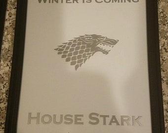 Game of thrones house sigil