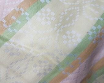 Original fifties damask bed linnen