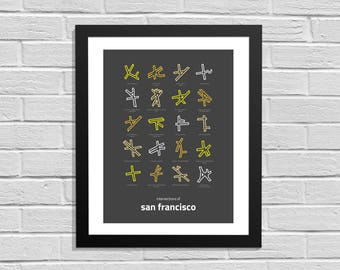 Intersections of San Francisco