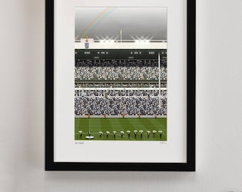 Tottenham Hotspur FC Finale Print, White Hart Lane Art, Spurs FC gifts, Football Art, Gift for Men, Football Gifts, Football Posters, THFC