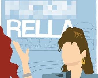 Cinda-Fuckin-Rella - Pretty Woman Print
