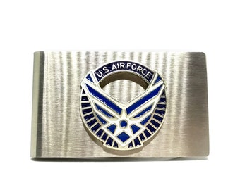 Air Force Money Clip – Wings
