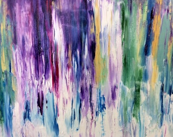 abstract inspiration oil painting, original oil, expressionism oil on canvas