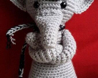 Handmade Crochet Gorgeous Little Elephant