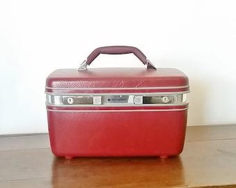 Train Case, Samsonite Train Case, Makeup Case,  Samsonite Luggage, Vintage Train Case, Retro Train Case, Samsonite Luggage