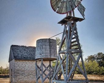 LBJ Homestead Windmill