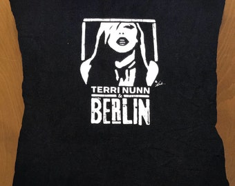 Terri Nunn/Berlin throw pillow