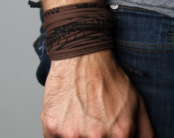 Gift for Men, Mens Gift, Husband Gift, Gift for Boyfriend, Cuff Bracelet, Mens Bracelet, Boyfriend Gift, Festival Clothing, Festival, Mens