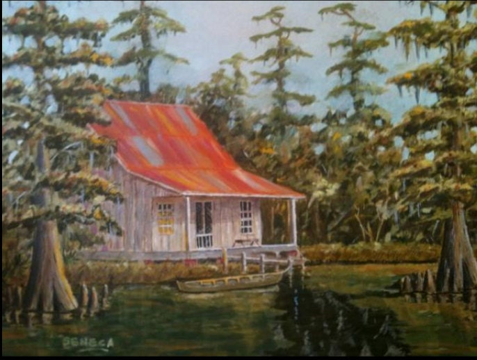 Cajun Camp In Cypress Swamp Father 39 S Day Gift Louisiana