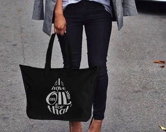 I Have an Oil for that Droplet -  Essential Oil Bag   Essential Oil Tote Bag   doTERRA Tote   Young Living Tote