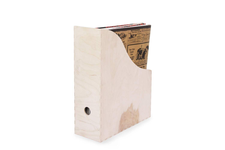wooden file organizer unfinished unpainted plain file