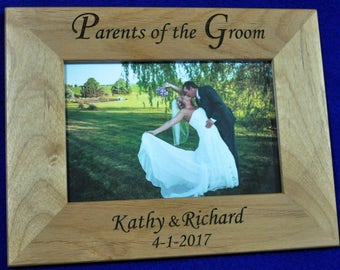Gift For Grooms Parents Parents In Law Wedding Gift Grooms