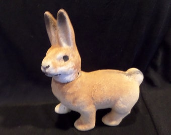 Reserved for JOANNE Antique Easter Bunny Rabbit Candy Container German Easter Bunny Antique Candy Container Victorian Holiday Spring Easter