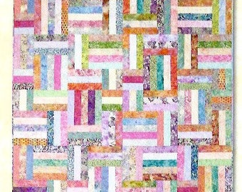 Popsicle Sticks Quilt Pattern by Atkinson Desings