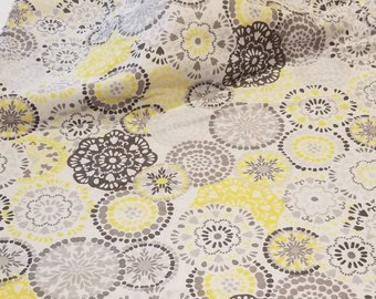 Yellow Paisley Baby Blanket