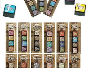 Tim Holtz Mini Distress Ink kits [Pick One]