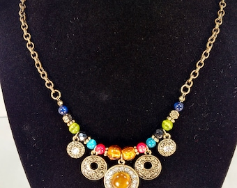 Multi Colored Karmic Spirit Necklace
