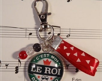 Keyring / bag charm for the King of the cocktails