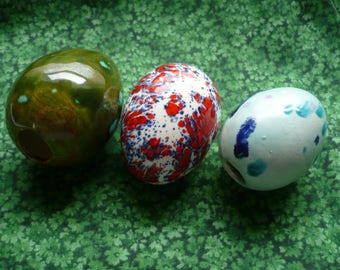 Easter Eggs light blue, green, americana