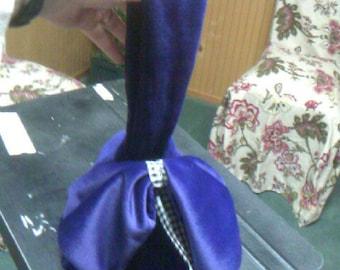 Purple Corduroy Purse