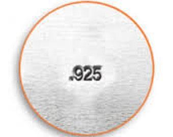 MARKING STAMP .925 ImpressArt 1.5mm Metal Stamp