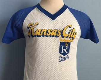 80s Vintage Kansas City Royals mlb baseball T-Shirt - SMALL